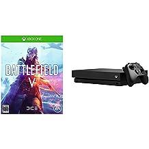 Battlefield V (バトルフィールドV) 【Amazon.co.jp限定】バトルフィールドVオリジナルトートバッグ 付 +Xbox One X (CYV-00015) 本体 セット