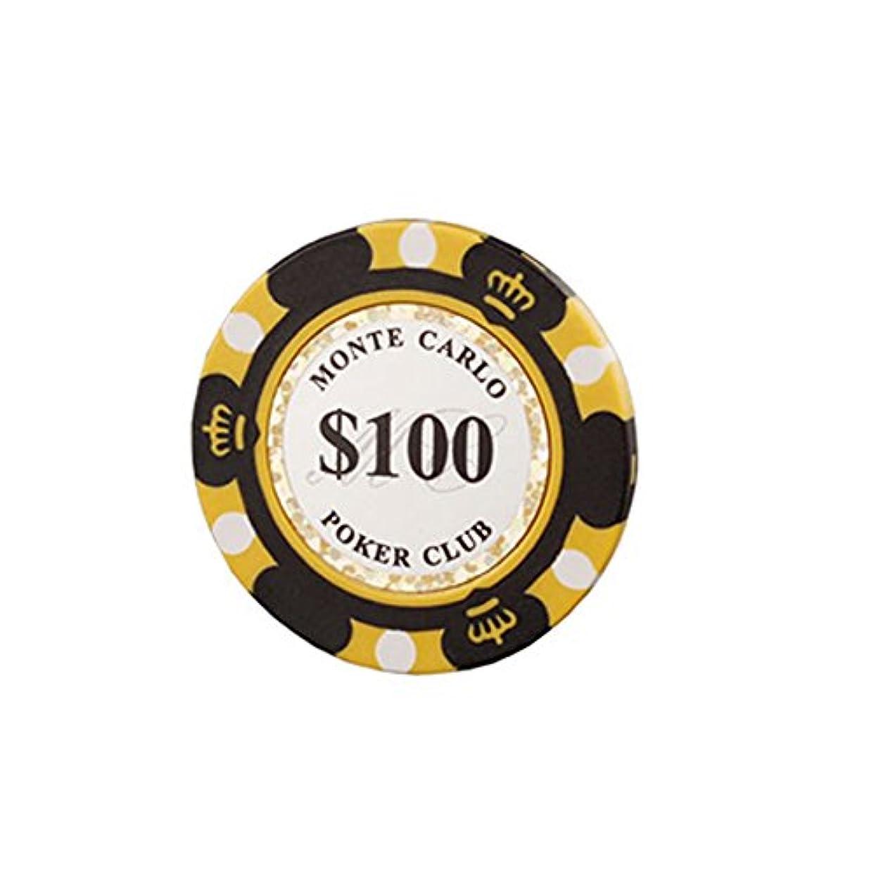 窒素ベストオピエートモンテカルロ 14g カジノ ポーカーチップ ラウンド用品 10枚セット