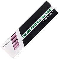 トンボ鉛筆 色鉛筆 1500単色 藤色 1ダース 1500-21