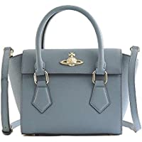 Vivienne Westwood ヴィヴィアン・ウエストウッド PIMLICO SMALL HANDBAG ハンドバッグ ブルー 42010032 [並行輸入品]