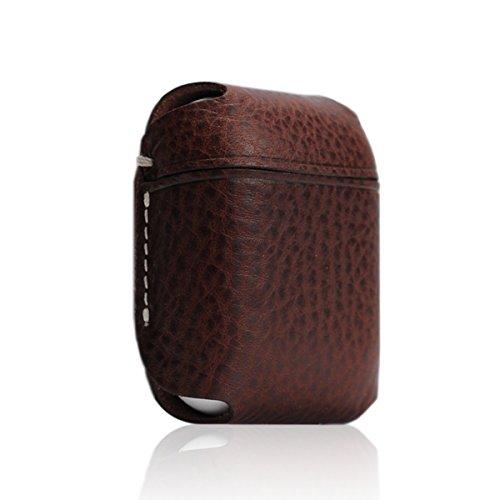 SLG Design AirPods ケース Minerva Box Leather Case ブラウン 本革 ミネルバボックス レザー Apple ワイヤレスイヤホン エアーポッズ専用【日本正規代理店品】 SD11853AP