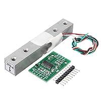 ランフィー HX711 モジュール + 20kg アルミ合金スケールセンサーロードセルキット Arduino の計量