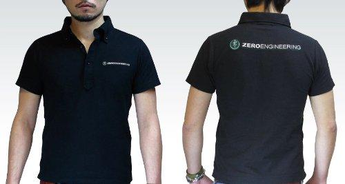ZERO ENGINEERING(ゼロエンジニアリング) ボタンダウンポロシャツ バージョン2 ブラック XS ZPS2-BK-XS