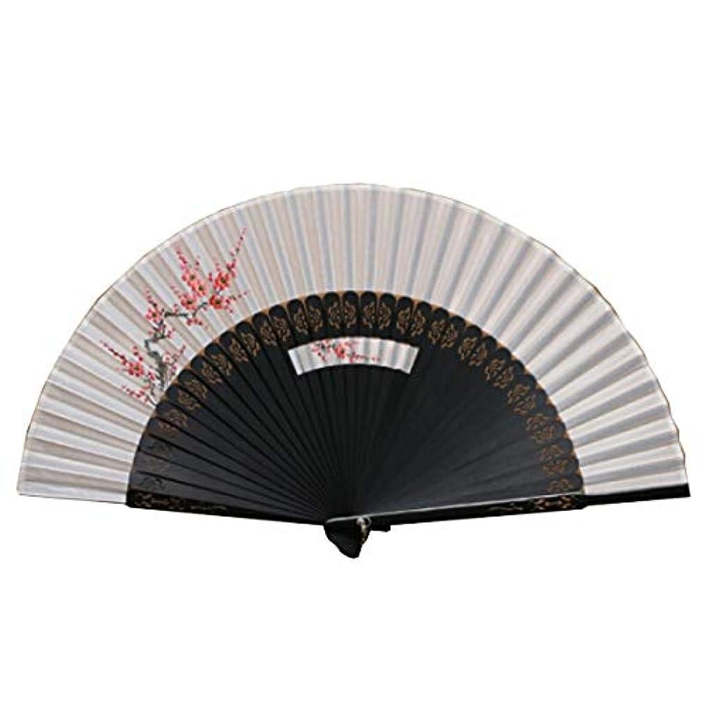 ライトニング小売検証KATH 扇子、シルク手描きのファン、中国風のファン
