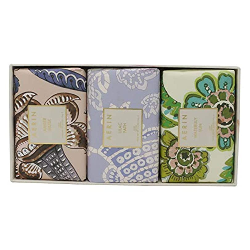 説明する不機嫌そうな用語集AERIN Beauty Soap Coffret(アエリン ビューティー ソープ コフレット ) 6.2 oz (186ml) Soap 固形石鹸 x 3個セットby Estee Lauder