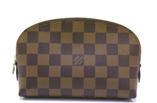 Louis Vuitton ルイヴィトン 化粧ポーチ ダミエ ポッシュ コスメティック エベヌ N47516 【並行輸入品】