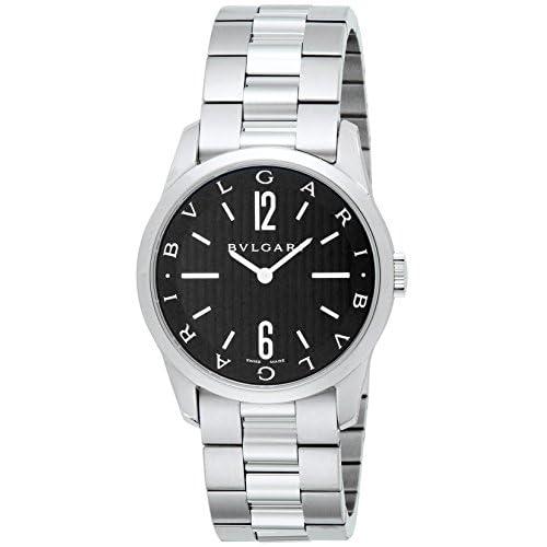 [ブルガリ]BVLGARI 腕時計 ソロテンポ ブラック文字盤 ST37BSS メンズ 【並行輸入品】