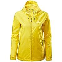 Kathmandu Pocket-it Women's Hooded Water Resistant Packaway Light Rain Jacket