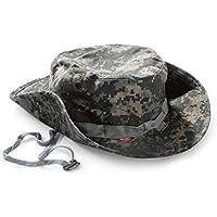 Outflower ジャングルハット 紫外線カット 釣り帽子 ジャングル 大きいサイズ アウトドアハット おしゃれ サイズ調整可 迷彩帽子 キャップ ミリタリー 男女兼用 帽子掛け uv