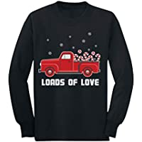 Loads of Love Red Christmas Pickup Truck Xmas Toddler/Kids Long Sleeve T-Shirt