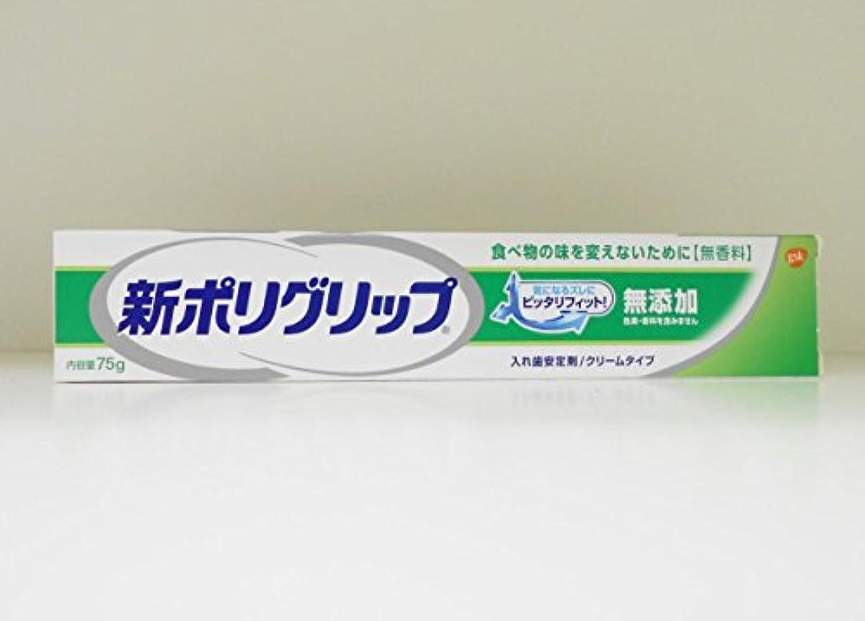 チャレンジ悲しむオープニング【アース製薬】新ポリグリップ無添加 75g ×5個セット