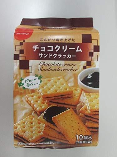 NSIN チョコクリームサンドクラッカー 10個×12袋入り