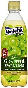 カルピス 「Welch's」グレープフル スパークリング ホワイト 500ml×24本