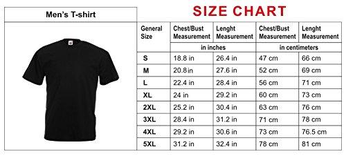 N4020 メンズTシャツ I F..k Everything gift (XX-Large 赤 ホワイト)