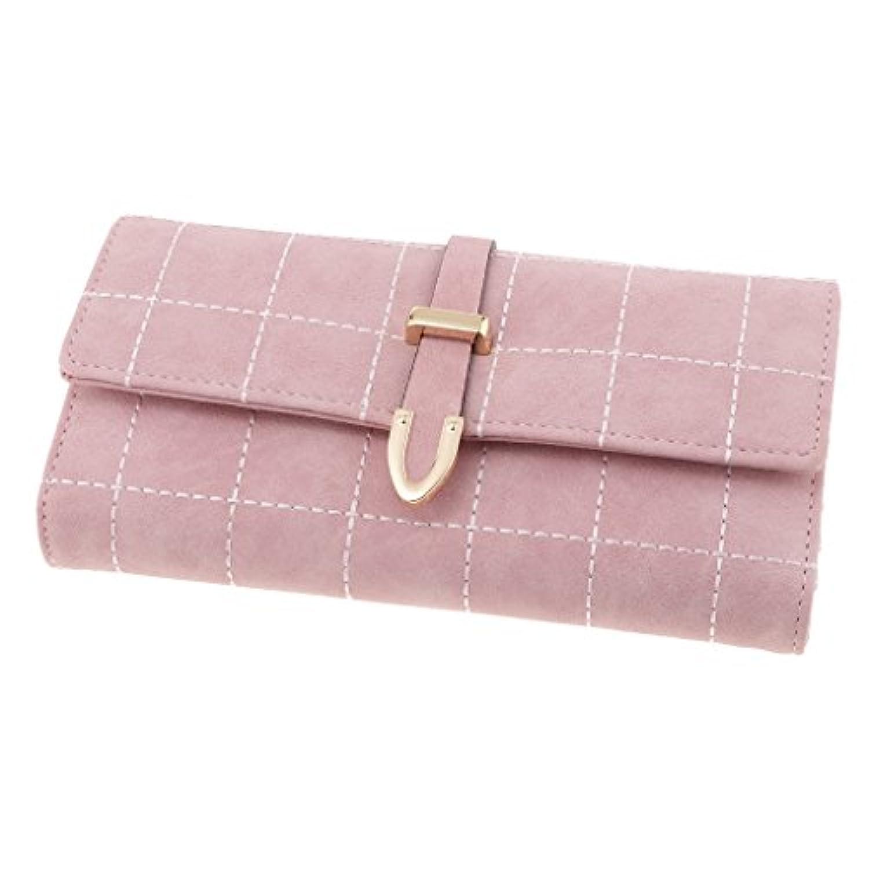 Perfk 全5色 クラッチバッグ 財布 ウォレット ひし形 レディース 韓国風 チェック柄 PUレザー 交換用