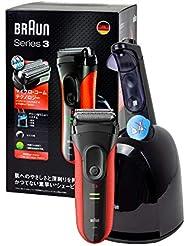 ブラウン メンズ電気シェーバー シリーズ3 3050cc 3枚刃 専用洗浄液カートリッジ付き 通販限定モデル BRAUN