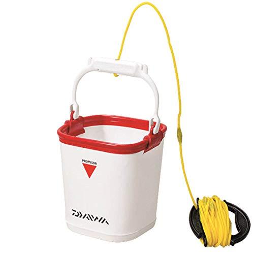 ダイワ(Daiwa) プロバイザー スーパー 水汲み バケツ G19CM(D) ホワイト/レッド