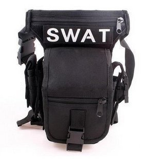 【ノーブランド品】特殊部隊 SWAT 多機能ウェストポーチ ...