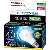 (まとめ)東芝ライテック LED電球ミニクリプトン形 40W形相当 3.9W E17 昼白色 LDA4N-G-E17/S/40W 1個【×3セット】 〈簡易梱包