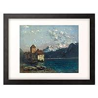 ギュスターヴ・クールベ 「The Castle of Chillon.」 額装アート作品