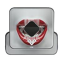 ブラーバ専用 Braava 380 380j 対応 iRobot 専用スキンシール カバー ケース 保護 フィルム ステッカー デコ アクセサリー 掃除機 家電 ユニーク 唇 バーコード 005717
