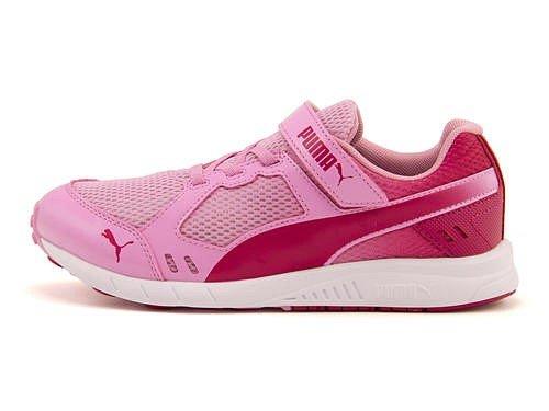 [プーマ] PUMA 女の子 キッズ 子供靴 運動靴 通学靴 ランニングシューズ スニーカー スピー...