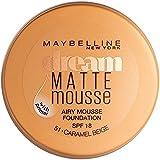 [Maybelline ] メイベリン夢のマットムース基盤051キャラメルベージュ - Maybelline Dream Matte Mousse Foundation 051 Caramel Beige [並行輸入品]