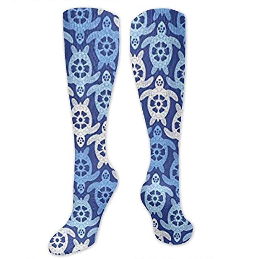 追放するカフェ細分化する靴下,ストッキング,野生のジョーカー,実際,秋の本質,冬必須,サマーウェア&RBXAA Turtles - Blue Socks Women's Winter Cotton Long Tube Socks Cotton...