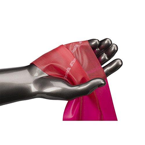 『TheraBand セラバンド 赤 レッド ミディアム (強度:0) 標準サイズ(幅約 12.5cm × 長さ 5.5 m)』の3枚目の画像