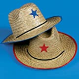 Adult Cowboy Hat with Star (1 ct) (1 per package)