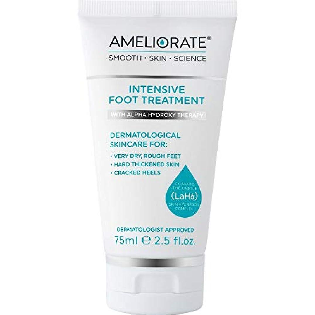 サラミ会計士プラットフォーム[Ameliorate] 集中的なフットトリートメント75ミリリットルを改善 - Ameliorate Intensive Foot Treatment 75ml [並行輸入品]