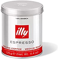 illy(イリー) エスプレッソ粉 ミディアムロースト 125g