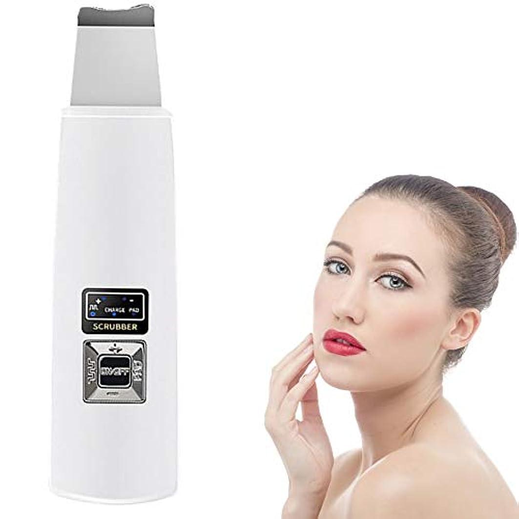 お香プログラム緊張顔の皮膚スクラバースキンEMSイオンクリーナーブラックヘッド除去毛穴クリーナー死んだ皮膚の除去リンクルリムーバーにきび面皰ExtractorのUSBツールを剥離充電式フェイシャルマッサージリフティング