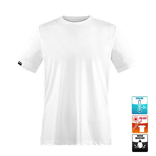 Kozy More クール 機能性 Tシャツ メンズ 撥水(疏水)加工 接触...