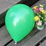 FidgetGear Wholesale 100pcs Latex Helium Thickening Round Wedding Party Birthday Balloon Green 20 Pcs