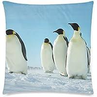 可愛い 子供 南極のかわいいやつら ペンギン 座布団 45cm×45cm