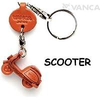 本革製 キーホルダー スクーター VANCA CRAFT (日本製 職人の手作り)