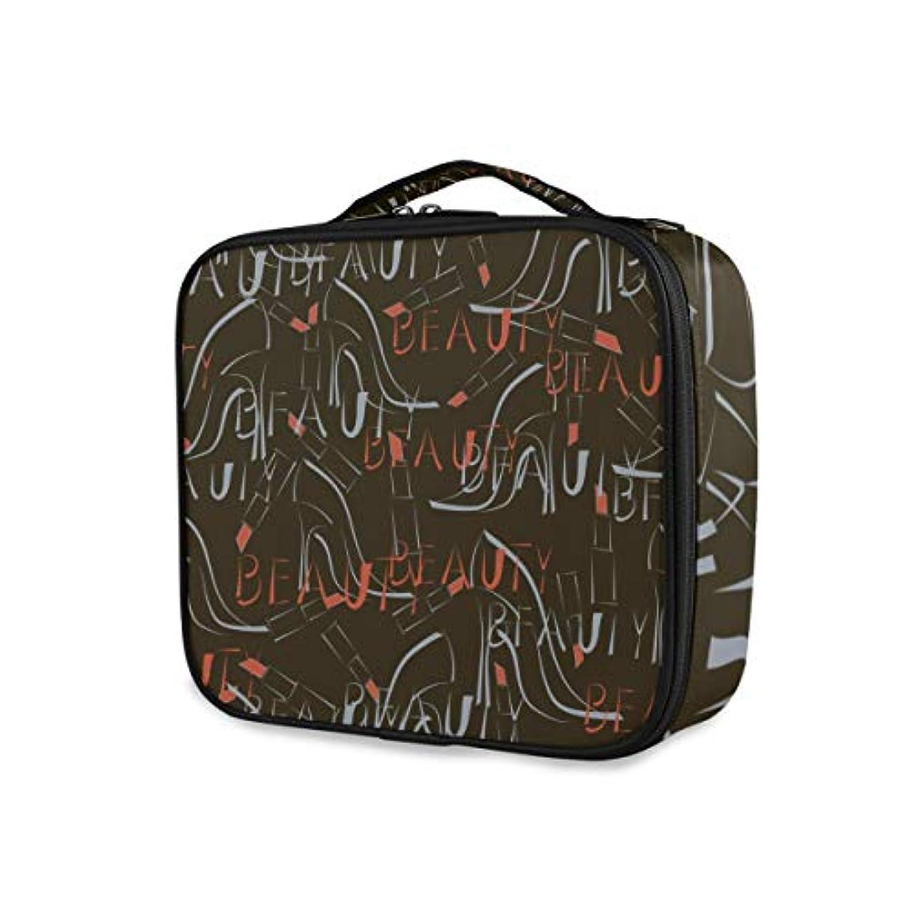 万一に備えて発行エスニックKAPANOU プロ用 メイクボックス シームレスパターンハイヒール靴口紅ワード 多機能 高品質 美容師 マニキュリスト 刺青師 専用 化粧ボックス メイクアップアーティスト 収納ケース メイクブラシ 化粧道具 大容量