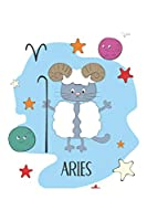 Aries: Aries Gifts - Undated Daily Planner - Funny Zodiac Planner Featuring an Aries Cat - Great April Birthday Gift