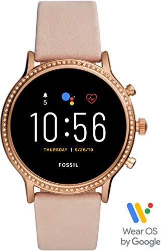 [フォッシル] 腕時計 タッチスクリーンスマートウォッチ ジェネレーション5 FTW6054 レディース 正規輸入品 ベージュ