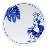 三郷陶器 ディズニー 小粋染付 豆皿(アリス) 3230-108