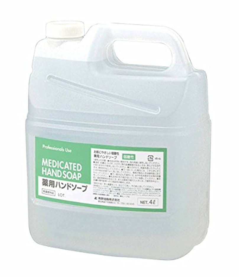 シマウマきちんとした講堂ファーマアクト 弱酸性薬用ハンドソープ 4L