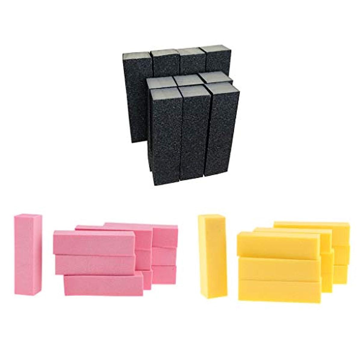 圧倒的謎黒T TOOYFUL 爪やすり ネイルケア ネイルファイル スポンジ ネイルファイルブロック ネイル道具 ケアツール 約30個入り