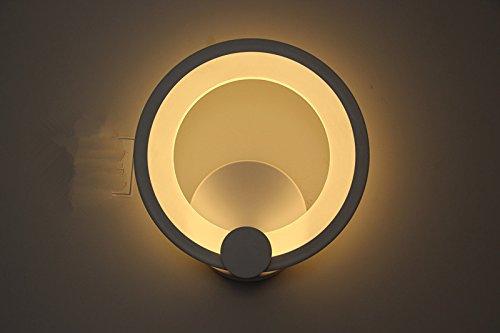 LIGHTESS LEDウォールライト 室内インテリア照明 ベッドサイドランプ 壁掛け照明 ブラケットライト led壁灯 12 W 高輝度 廊下・寝室・階段などの照明 おしゃれ 電球色