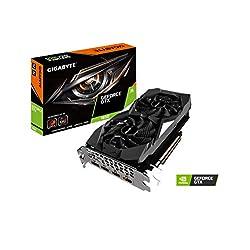 GIGABYTE GeForce GTX 1650 Windforce OC 4G グラフィックスカード 2X Windforce ファン 4GB 128-Bit ATX Gv-N1650WF2OC-4GD ビデオカード
