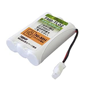 [F-FACTORY] シャープ コードレス子機用充電池(A-002同等品) FMB-TL02