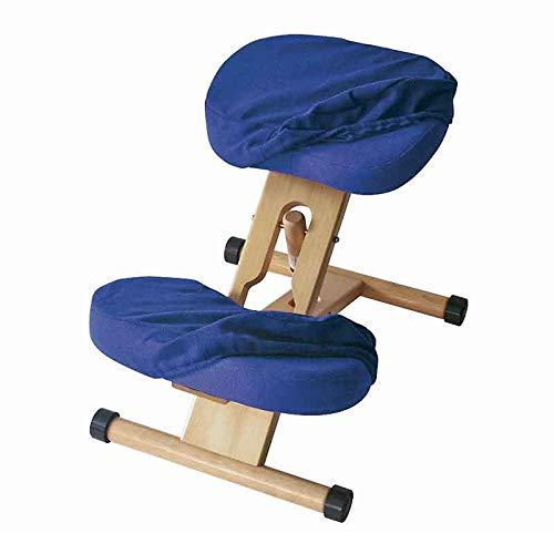 宮武製作所 プロポーションチェア用替えカバー 座用+膝用セット ブルー CV-8W_BL