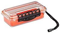 Plano Smallガイドシリーズ防水ケース、オレンジ/クリア145000