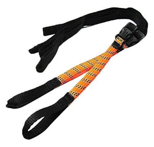 ROK straps (ロックストラップ) Commuter ストレッチ ストラップ オレンジ リフレクティブ 2本入り ROK00335
