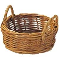 紅籐製 ラタンバスケット 32-11